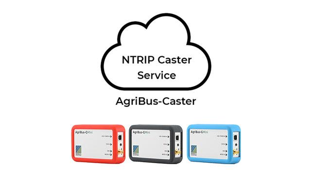 AgriBus-GMini用 NTRIP Caster