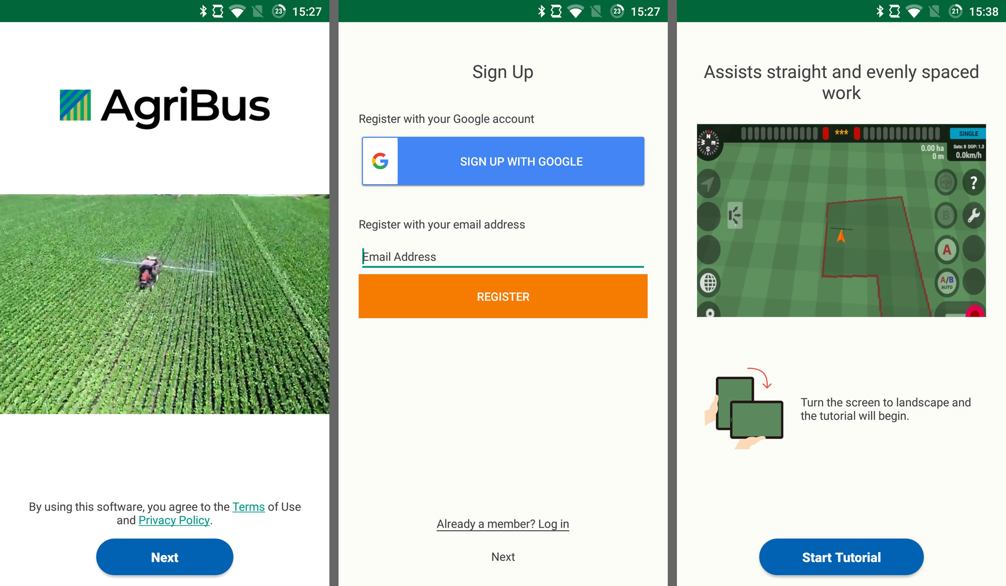 Update of the AgriBus-NAVI application (v3.9.6)